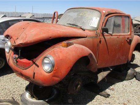 Junkyard Find: 1973 Volkswagen Super Beetle