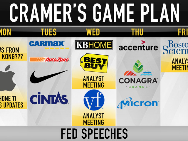 Everything Jim Cramer said on 'Mad Money,' including the week ahead, iPhone sales, Zscaler CEO
