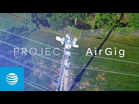 AT&T Launches Project AirGig Trials to Bring Ultra-Fast Internet Over Power Lines Closer to Reality