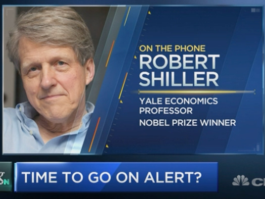 """Robert Shiller: """"In Real Terms, Home PricesHave Never Been So High"""""""