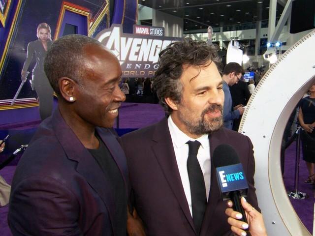 "Don Cheadle & Mark Ruffalo's Favorite ""Avengers"""