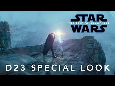 Star Wars: The Rise Of Skywalker Featurette from D23
