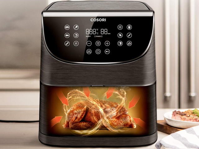 Save 20% on a top-rated air fryer that cooks up crispy food without all the fat
