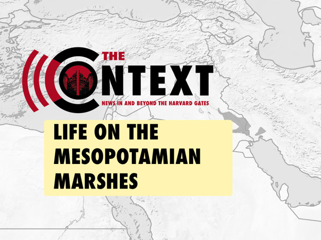 The Context: Life on the Mesopotamian Marshes—and the Specter of Drought