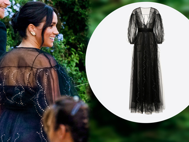 Meghan Markle sparkles in $13K Valentino gown at Misha Nonoo's wedding