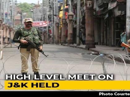 Amit Shah Meets National Security Advisor, Intelligence Bureau Chief On J&K