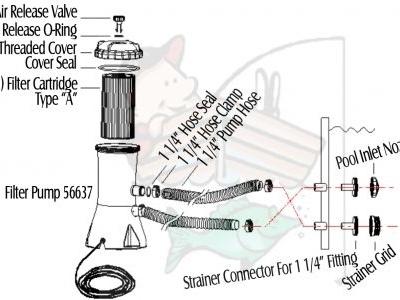 Intex Pool Pump Parts Diagram   Automotive Parts Diagram Images