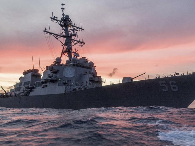 US Navy 7th Fleet Commander to Be Dismissed After Second US Destroyer Collision in 2 Months
