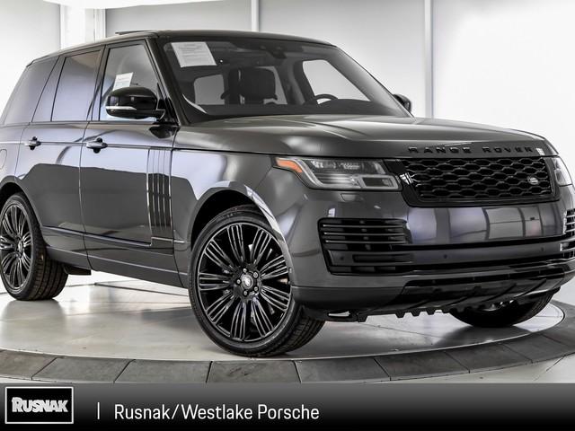 2018 Land-Rover Range--Rover 5.0L V8 Supercharged