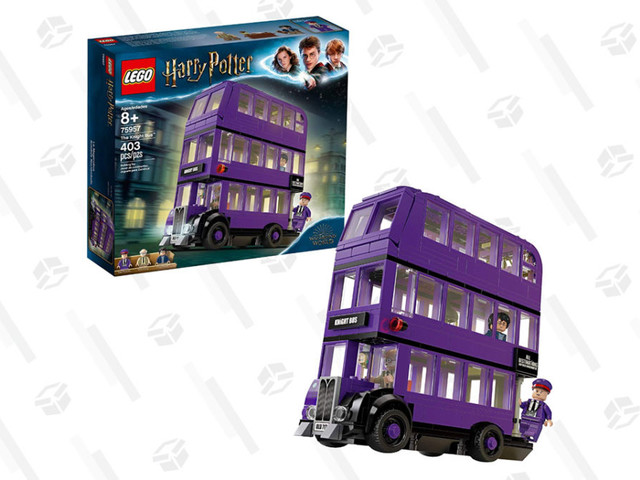 This $32 LEGO Knight Bus Set Includes a Tiny Shrunken Head
