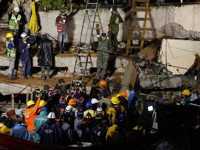 Trapped girl a symbol for Mexico's earthquake rescue efforts as death toll rises