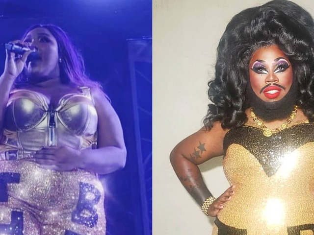 Houston performer Blackberri recreates Lizzo's 'Truth Hurts' concert look