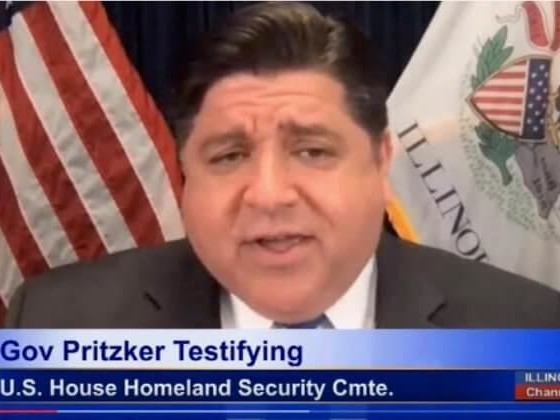 Why Illinois Governor Pritzker's Congressional Testimony On COVID-19 Was False And Hypocritical