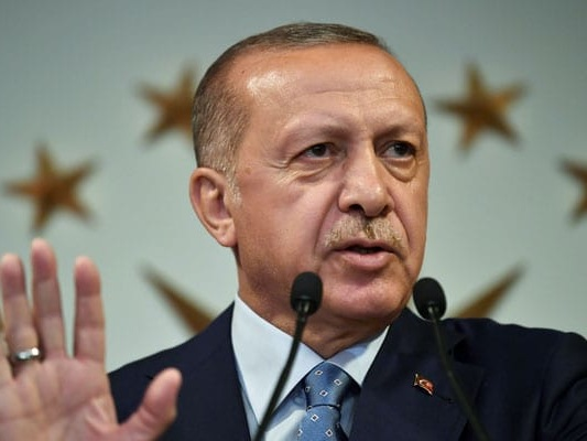 """""""Will Ensure No ISIS Fighters Leave Northeastern Syria"""": Turkey President"""