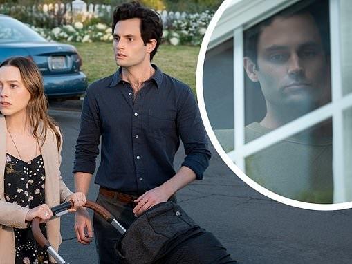 Penn Badgley's stalker Joe adjusts to suburban life as fans cheer the third season premiere of You