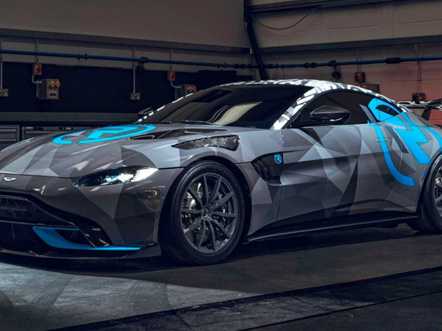 Aston Martin Unveils Vantage Cup For One-Make Racing Series