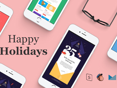 Christmas and New Year-Multipurpose Responsive Email Template With Stamp Ready Builder Access (Email Templates)
