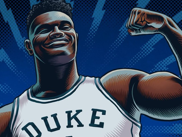 The Year Zion Williamson Took Flight—and Was Grounded