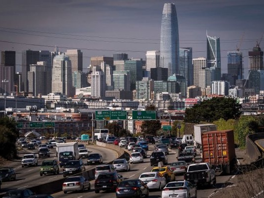 Uber and Lyft are responsible for about half of SF's rise in traffic since 2010, SFCTA says