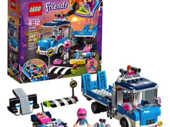 LEGO Friends Service and Care Truck Building Set for just $13.97!