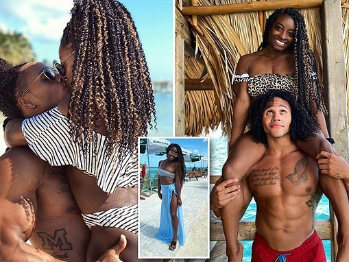 Simone Biles shares travel pictures from Belize with her boyfriend