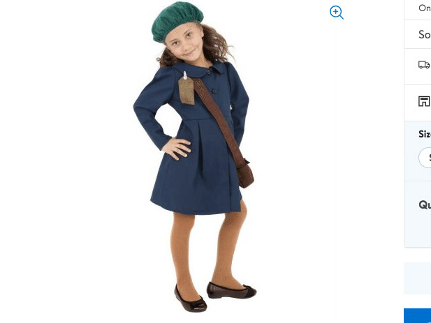Parents Slam Retailers for Selling Anne Frank 'Evacuee' Halloween Costumes for Girls