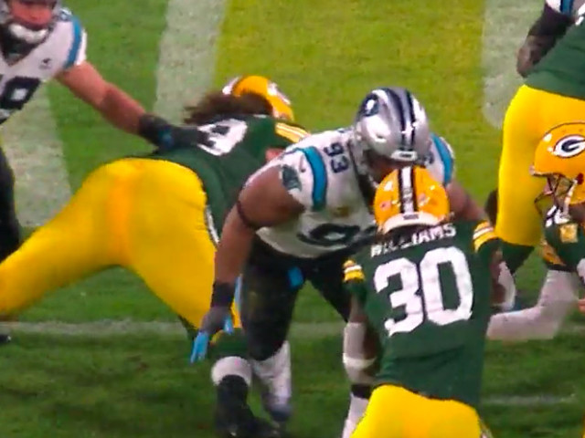 Gerald McCoy turned his BS penalty against Aaron Rodgers into a redemption story