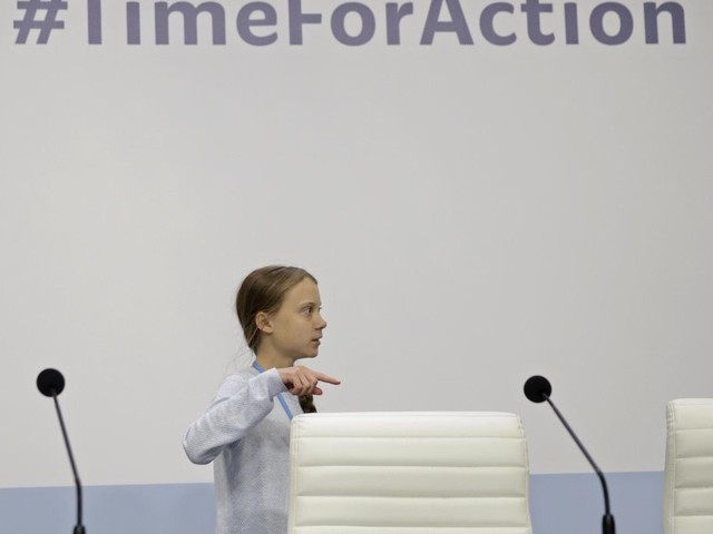 Greta asks media to focus on other young climate activists