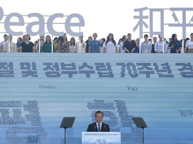 South Korea's Leader Proposes Broad Economic Cooperation With the North