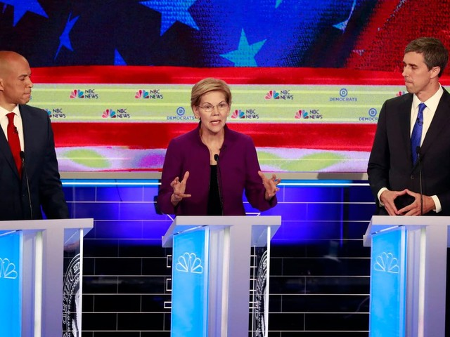 Winners and losers from the Democratic presidential debate's first night