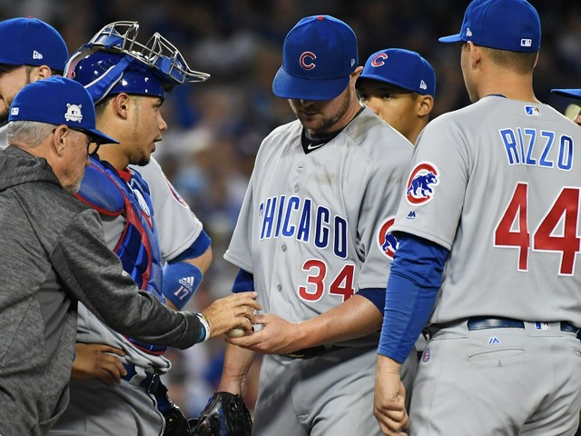 Joe Maddon explains why he didn't use Wade Davis in NLCS Game 2