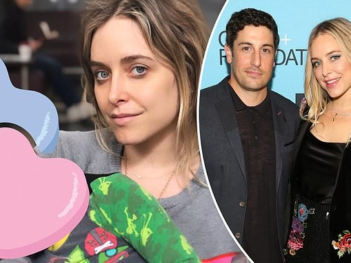 Jason Biggs' wife Jenny Mollen reveals she dropped their son on his head