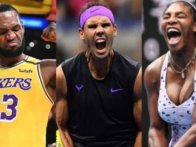 WATCH: NBA Star LeBron James Hails Rafael Nadal and Serena Williams