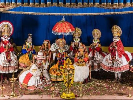 Rama's eye-catching coronation