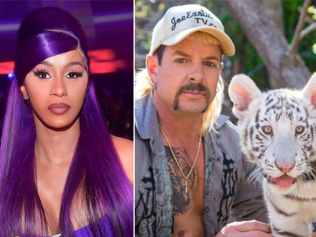 Cardi B vows to start GoFundMe for incarcerated 'Tiger King' star Joe Exotic
