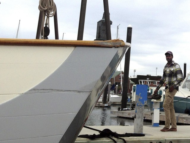 The Latest: Tall ship that crashed to be returned to berth