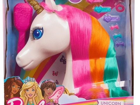 Barbie Dreamtopia Unicorn Styling Head only $11.24!