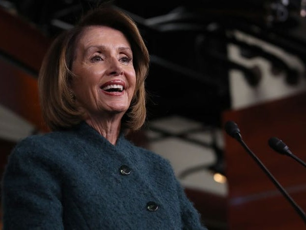 Nancy Pelosi responded to Trump's latest Twitter insult, saying 'every knock from him is a boost'
