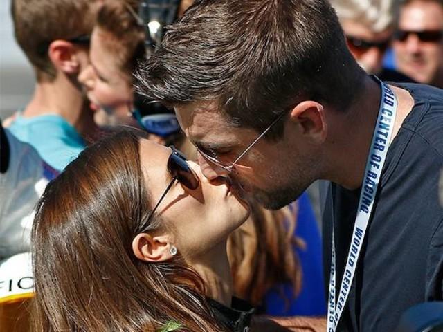 Danica Patrick & Aaron Rodgers
