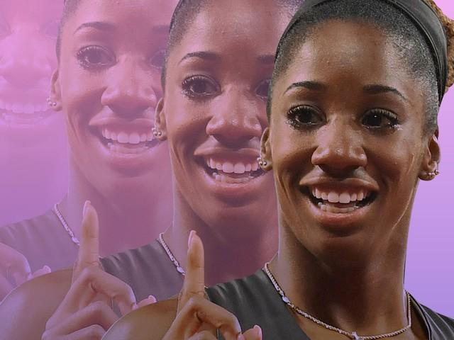 For Olympic Hurdler Keni Harrison, Power Comes From Goal-Setting
