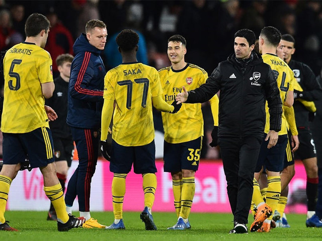 FA Cup: Youngsters Shine As Arsenal Beat Bournemouth To Reach 5th Round