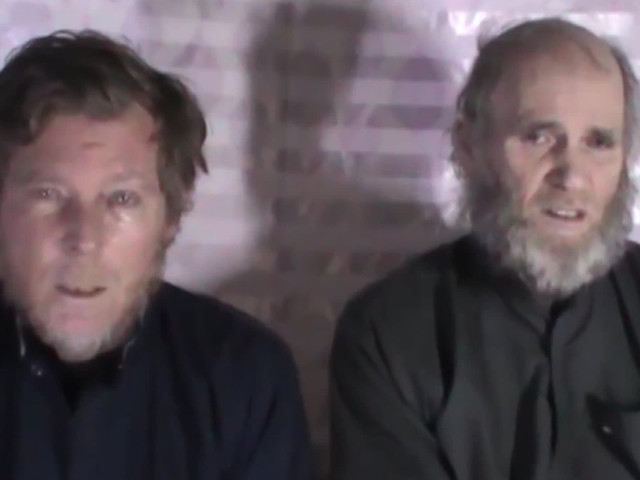 American and Australian hostages freed in Taliban prisoner swap