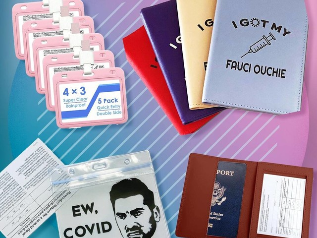 15 Super Cute Vaccine Cardholders You're Gonna Want