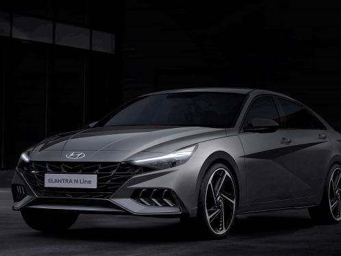 Sport, Redux: Hyundai Elantra N Line Emerges From Shadows