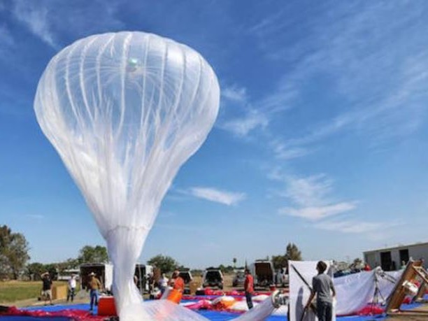Google Is Using Hot Air Balloons To Restore Cell Service In Puerto Rico