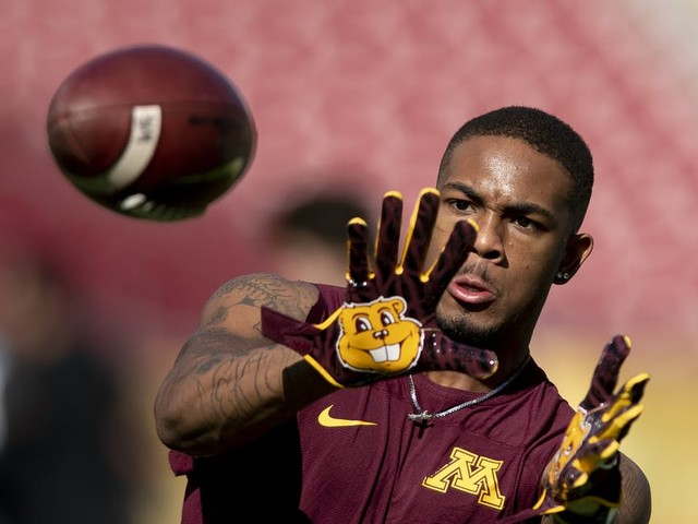 Rashod Bateman returns to practice with Gophers, and is waiting for NCAA clearance to play, P.J. Fleck says