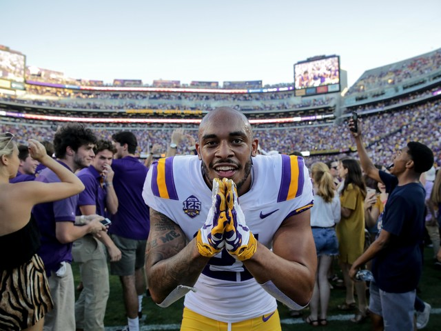 Win against Georgia pushes LSU into SEC title, College Football Playoff conversation