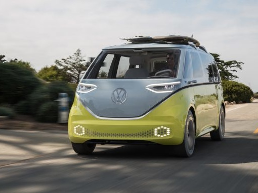 Volkswagen I.D. Buzz Electric Bus Confirmed for U.S.—in 2022
