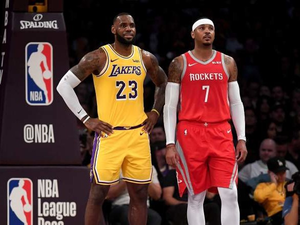 Carmelo Anthony Joining Lakers Endorsed by NBA All-Star