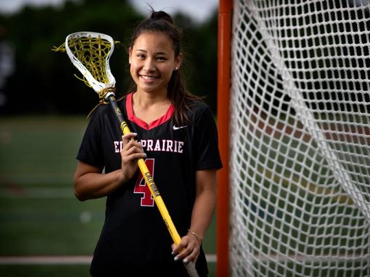 Kacie Riggs is the Star Tribune Metro Player of the Year for girls' lacrosse